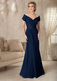 evening gown with sleeves Cheap dress samples, Buy Quality dress up ball gowns directly from China gown dress Suppliers: elegant v-neck cap sleeve navy mother of the bride chiffon dresses groom mother formal long evening gowns plus size dinner dress Mother Of The Bride Dresses Long, Mother Of Bride Outfits, Mothers Dresses, Long Mothers Dress, Mother Bride, Mob Dresses, Dresses Online, Chiffon Dresses, Tunic Dresses
