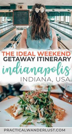 Indianapolis, Indiana is a fantastic destination for a weekend getaway! Here are the best things to do in Indianapolis in a 2 day itinerary. The perfect Midwest travel destination in the USA!  #Travel #USATravel Cheap Hobbies, Park, Parks