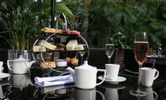 Bottomless Prosecco Afternoon Tea In An Indoor Rainforest? Say No More! - Secret London