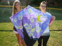 Art of Apex High School: Art History Kites and i like the idea of collaborating with physics