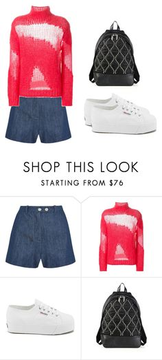 """""""Untitled #738"""" by abbey-ceee ❤ liked on Polyvore featuring moda, Topshop Unique, IRO, Superga y Alexander Wang"""