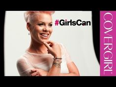 """CoverGirl's new advertisement """"Girls Can"""" encourages girls to be themselves.   Watch #GirlsCan, The New """"Women Empowerment"""" CoverGirl Ad"""