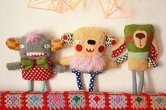 EDGARDUS AYBOBO, CLEMENCE PUMPKEENBOMB and DELPHINO RUGGERNAUTS by super ninon, via Flickr