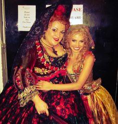 With Wendy Ferguson as Carlotta