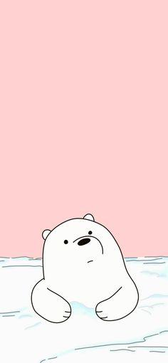 Cute Panda Wallpaper, Cartoon Wallpaper Iphone, Disney Phone Wallpaper, Kawaii Wallpaper, Polar Bear Wallpaper, We Bare Bears Wallpapers, Panda Wallpapers, Cute Cartoon Wallpapers, Ice Bear We Bare Bears