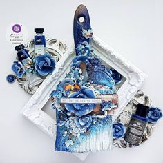 Paint Brush Art, Paint Brushes, Altered Canvas, Altered Art, Finnabair Mixed Media, Mixed Media Art, Mix Media, Art Basics, Jewelry Christmas Tree