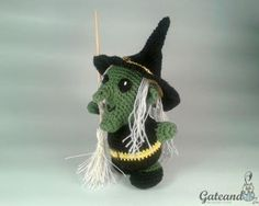 Patrón Bruja Amigurumi para Halloween / Amigurumi Witch Pattern for Halloween