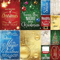 Magical Christmas: 12 x 12 Poster Sticker