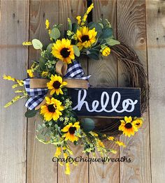 Excited to share this item from my shop: Summer Wreath; Year Round Wreath Excited to share this item from my shop: Summer Wreath; Wreath Crafts, Diy Wreath, Grapevine Wreath, Wreath Ideas, Tulle Wreath, Advent Wreath, Diy Crafts, Diy Spring Wreath, Holiday Wreaths