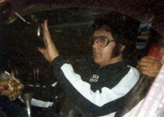 Elvis Presley in Cincinnati,OH June 25, 1977 Terry Hartman collection Two months before he died