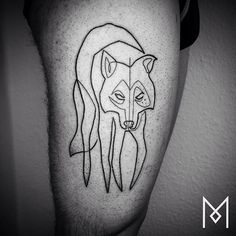 Mo Ganji es un tatuador iraní radicado en Berlín que dejó la industria de la moda para comenzar a diseñar increíbles tatuajes a partir de dibujos hechos con una sola línea continua