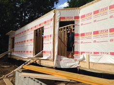 July 5,2014 2nd day of framing..1st story Back of house