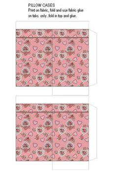 mini printable pillowcases