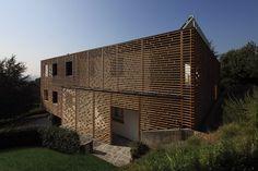wood, facade, double skin,