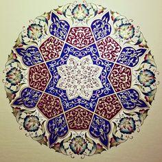 From last year .. #illumination #islamicart #handmade #traditionalart #artwork…