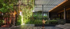 Few years ago, TROP wascommissioned to design the landscape for a hotel, in one of Bangkok's busiest neighborhoods. The site was compact, with abandoned townhomes. These structures werekept and transformed into hotel rooms, with windows facing drop-off area. The lobby   Read More
