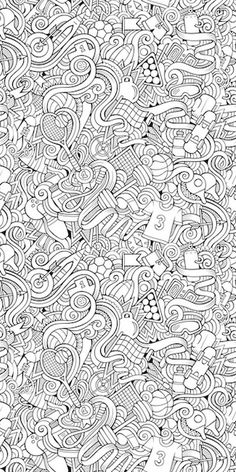 Keep the kids busy all day long with removable coloring wallpaper ...
