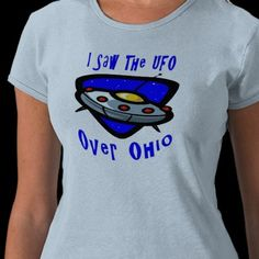 UFO over Ohio Tee Shirts
