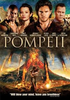 Pompeii -- I really enjoyed this movie. No matter the ending, the storyline was evolved very well and left out all the fluff other movies hold (i.e. nudity, gore). Kiefer Sutherland's accent was impeccable.