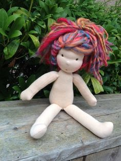 Waldorf doll115 inch doll ready to go by LilaLovesLife on Etsy