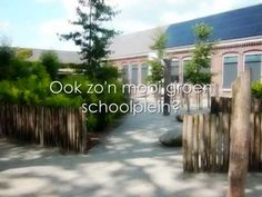 Het proces van een grijs naar een groen schoolplein. Natuurlijk buitenspelen met buroBlad. - YouTube Nars, School, Youtube, Schools, Youtubers, Youtube Movies