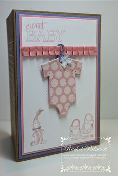 Stampin' Pals: Sweet Baby Girl CTD298 Card Concept13