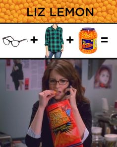 3-ingredient Liz Lemon Costume