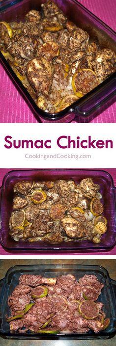 Sumac Chicken Recipe