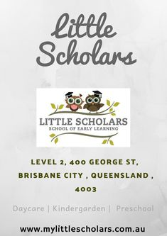 Little Scholars early learning centres believe in making a difference. Our family owned and operated boutique centres offer quality care at affordable rates, with skilled educators and premium facilities to meet the needs of every Little Scholar. Learning Centers, Early Learning, Brisbane City, Childcare, Preschool, Education, Child Care, Kid Garden, Early Years Education
