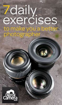 7 daily exercises that will make you a better photographer . I found website about #photography here: ecameraeffects.com/ .