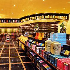Tea Shops: TWG Tea Salon & Boutique; Singapore