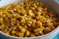 Pan-Roasted Corn