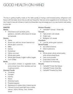 Jump Start Menu Plan from the Beginning of my Weight Loss Journey ...