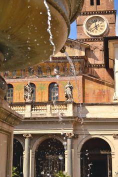 Santa Maria in Trastevere • Rome