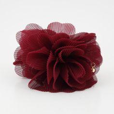 Pleat Petal Dahlia Flower Hair Jaw Claw Women Hair Accessory Clamp #VeryShine #Claws #Specialday