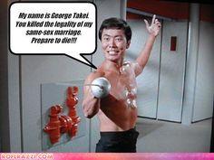 George Takei, oh my