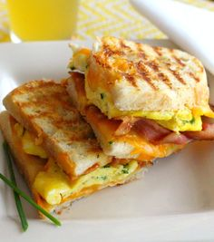 When I think of grilled cheese sandwiches it conjures up memories of my childhood.  Two slices of bread buttered and toasted until golden and stuffed with gooey cheddar cheese.  Due to my love of grilled cheese sandwiches I set out on a journey to find some creative riffs on this classic delight. Prepare to be [...]