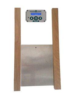 Chickenguard Standard Automatic Chicken Coop Pop Door Opener and Door Kit Combo for sale online