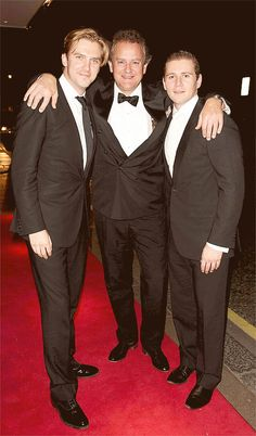 Some of the Men of Downton
