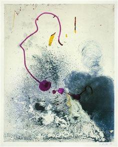 Ohne Titel (Farbprobe II) By Sigmar Polke, 1989