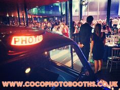 Taxi Photo Booth At The Roundhouse