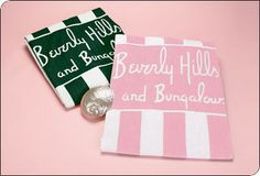 Green Beverly Hills and Bungalows Towel