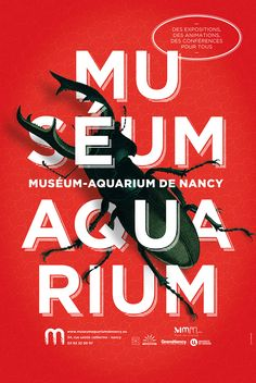Graphic Design : AgenceTANDEM Museum Aquarium #FredericClad