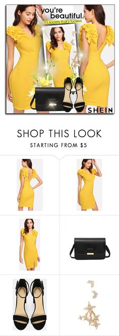 """Shein 8/10"" by sanela1209 ❤ liked on Polyvore"
