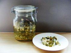 Een heleboel recepten voor zoet-zuur inmaak, Diana's moestuin
