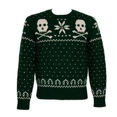 Festive pull-over sweater