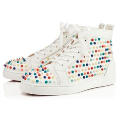 """DIY or Buy: $1,245 Christian Louboutin """"Louis Spikes"""".I just got a message fromkittypupgorawrasking where to find acrylic spi..."""