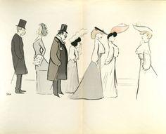 Sem: [drawings] Goursat, Georges Marie, 1863-1934 Sem, 1863-1934 (Public Domain)