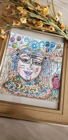 Your place to buy and sell all things handmade Art Pieces, Goddess Art, Goddess, Divine Feminine, Canvas, Painting, Art, Watercolor Paper, Portrait