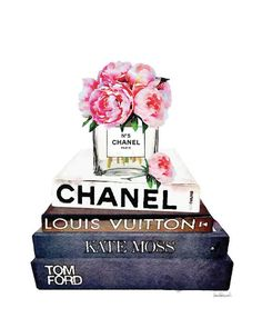 Chanel inspired Vase print with Pink watercolor and Fashion books. - Dimensions: select from the drop down menu 8x10, 12x18,16x20,18x24 - Colors depicted on your screen may be slightly different from the actual print. - Printed on archival, acid-free paper. - Museum-quality posters made on thick, durable, matte paper. - Colors depicted on your screen may be slightly different from the actual print. - Art comes with Signature on. - If you want the artwork in a different size, click on the…